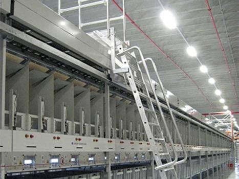 Sonderleitern aus Aluminium mit Stufen oder Sprossen