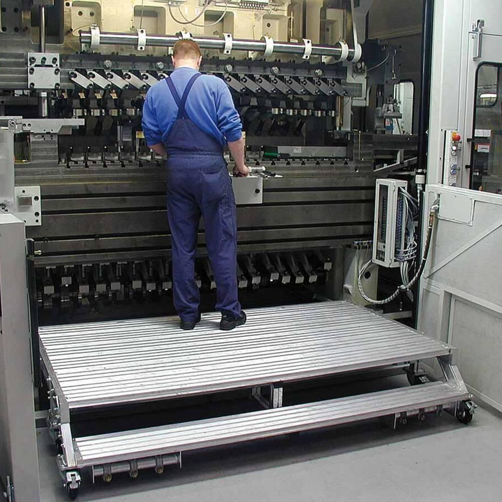 Fahrbare Arbeitsbühne ohne Geländer