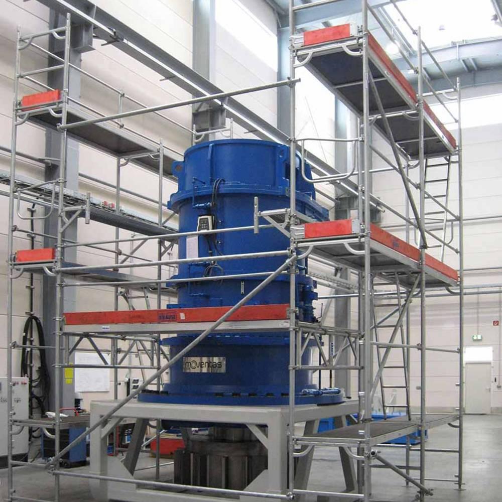 Sondergerüst im Produktionsprozess - Flexibel einsetzbar und bei Bedarf kranbar