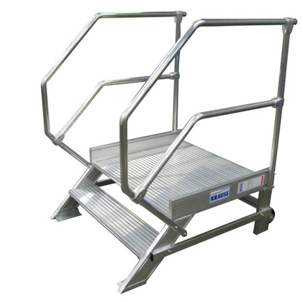 Krause - Aluminiumtritt mit Geländern - Sonderlösungen aus Aluminium
