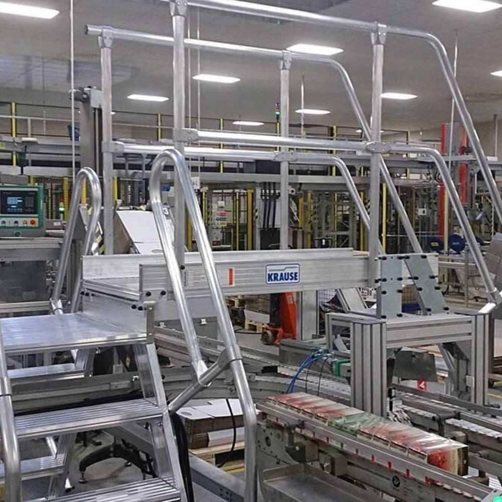 Produktionslinien-Überstieg mit mehreren Aufstiegen