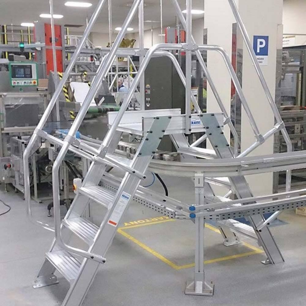 Ein Überstieg in einer Produktionsanlage