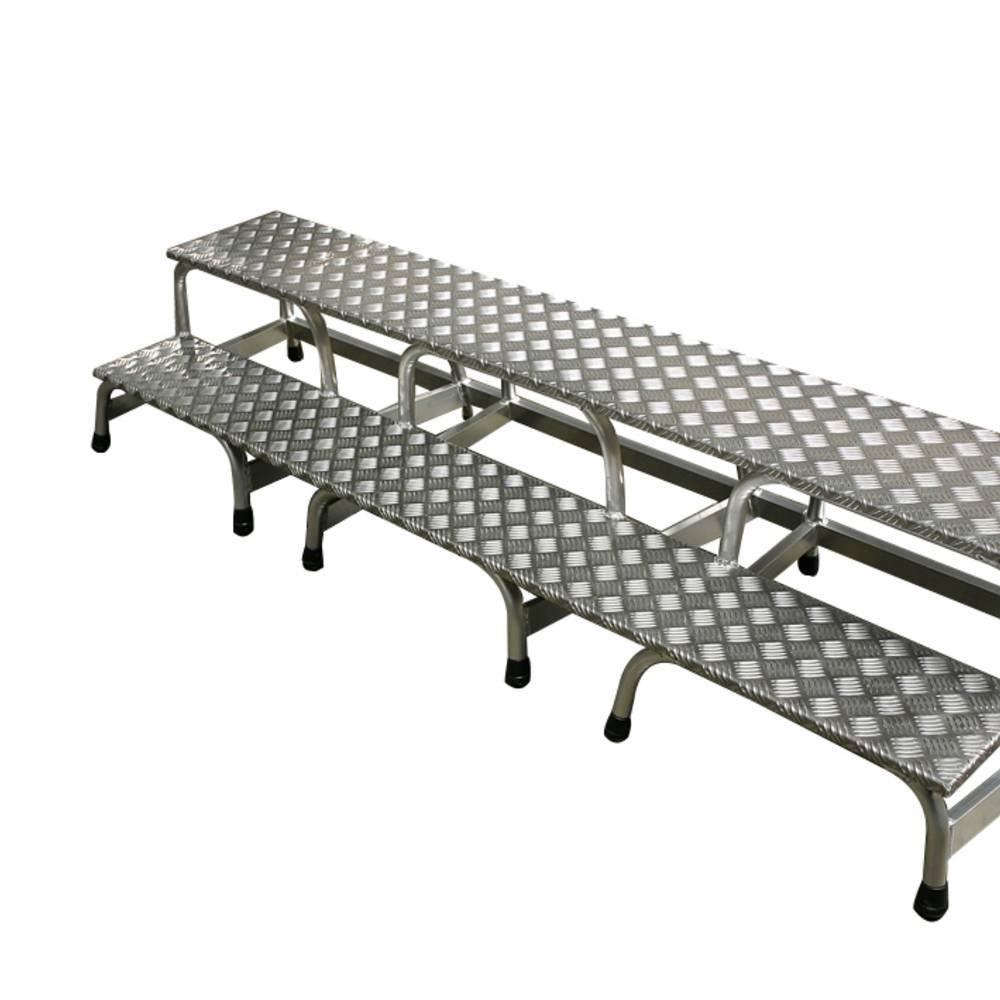 Krause - Extra breiter Sondertritt - Sonderlösungen aus Aluminium