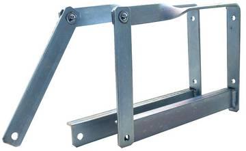 Zum sicheren Aufbewahren von Leitern.
