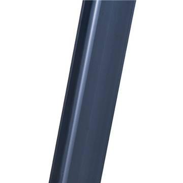 Stufen-Stehleiter Sepro S eloxiert - Eloxierte Holme verhindern das Verschmutzen der Hände und gewährleisten eine leichte Reinigung