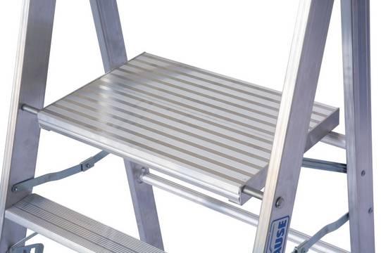 Profitritt - Extra große Standplattform für einen sicheren Stand (550 x 350 mm)