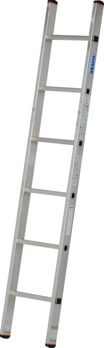 Die leichte und universell einsetzbare Aluminium-Anlegeleiter für alle Bereiche.