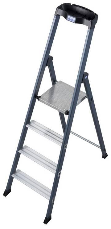 Die SePro S ist die High-End-Stehleiter aus dem MONTO-Programm – sauber, komfortabel und langlebig.