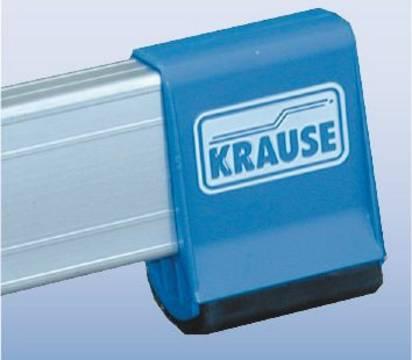 Sprossen-Gelenk-Doppelleiter - Rutschhemmende Traversenfußkappen (Safetycap)