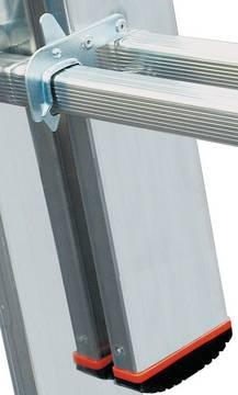 Sprossen-VielzweckLeiter Tribilo - Automatisch einrastende Sperrhebel (Autosnap-System) für einen sicheren Transport