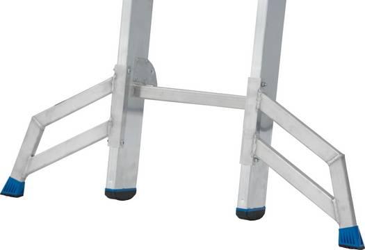 Sprossen-Schiebeleiter, zweiteilig - Trigon-Traverse zur Einzelnutzung des herausnehmbaren Innenteils