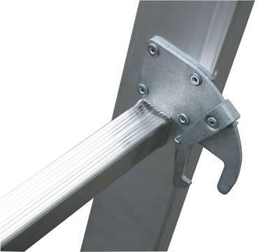 Sprossen-Mehrzweckleiter - Automatisch einrastende Sperrhebel (Autosnap-System) für sicheren Einsatz und Transport