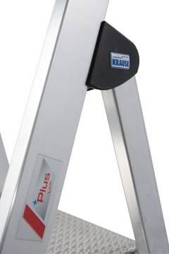 Stufen-Stehleiter Safety - 40% höherer Sicherheitsbügel