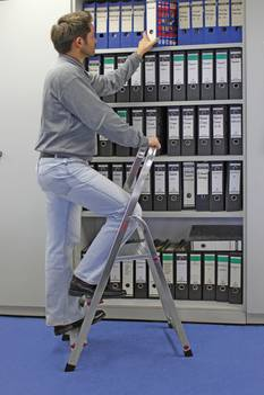 Anwendungsbeispiel Stufen-Stehleiter