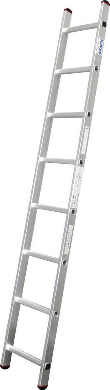 Zweckmäßige Aluminium-Anlegeleiter für leichte Tätigkeiten.