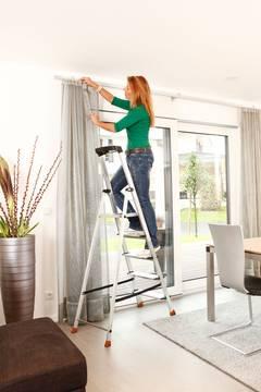 Anwendungsbeispiel Stufen-Stehleiter Sepuro