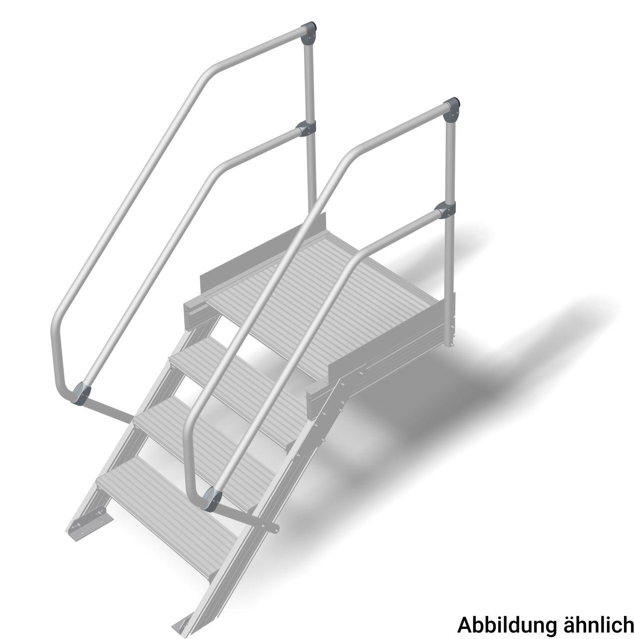 aluminium treppe