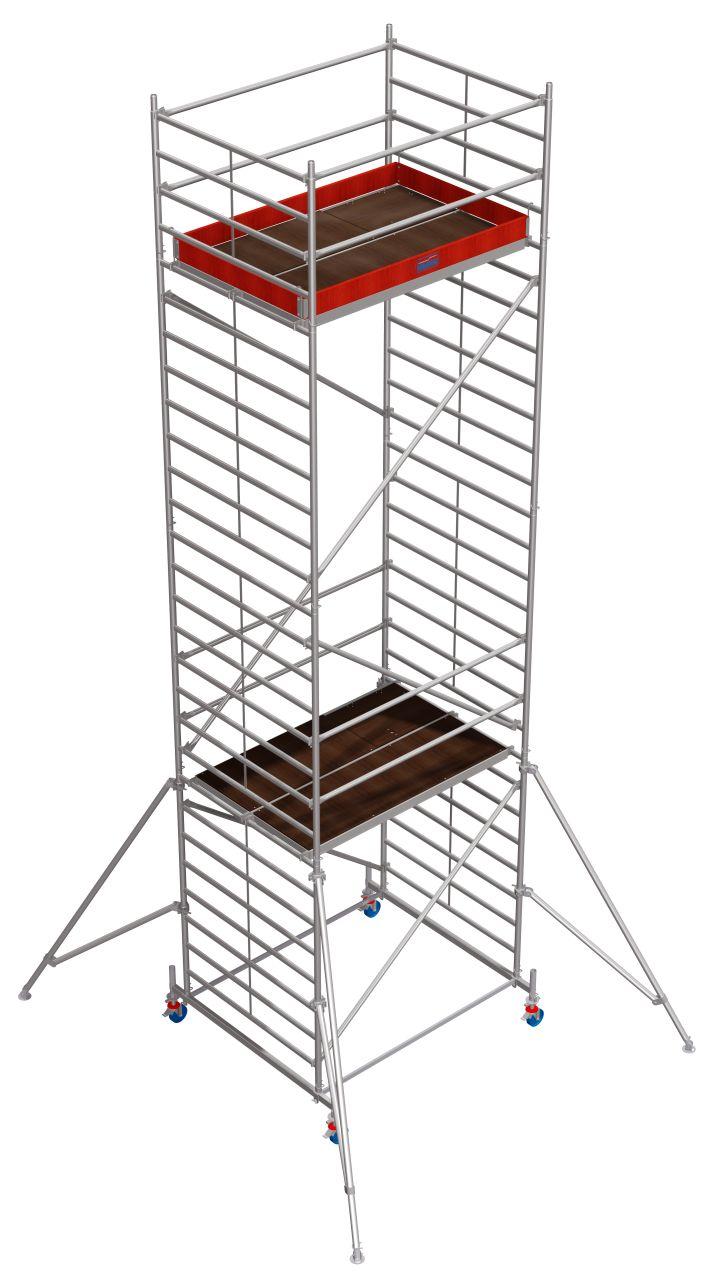 Fahrgerüst Serie 50 Das professionelle Alu-Fahrgerüst mit doppelter Arbeitsfläche