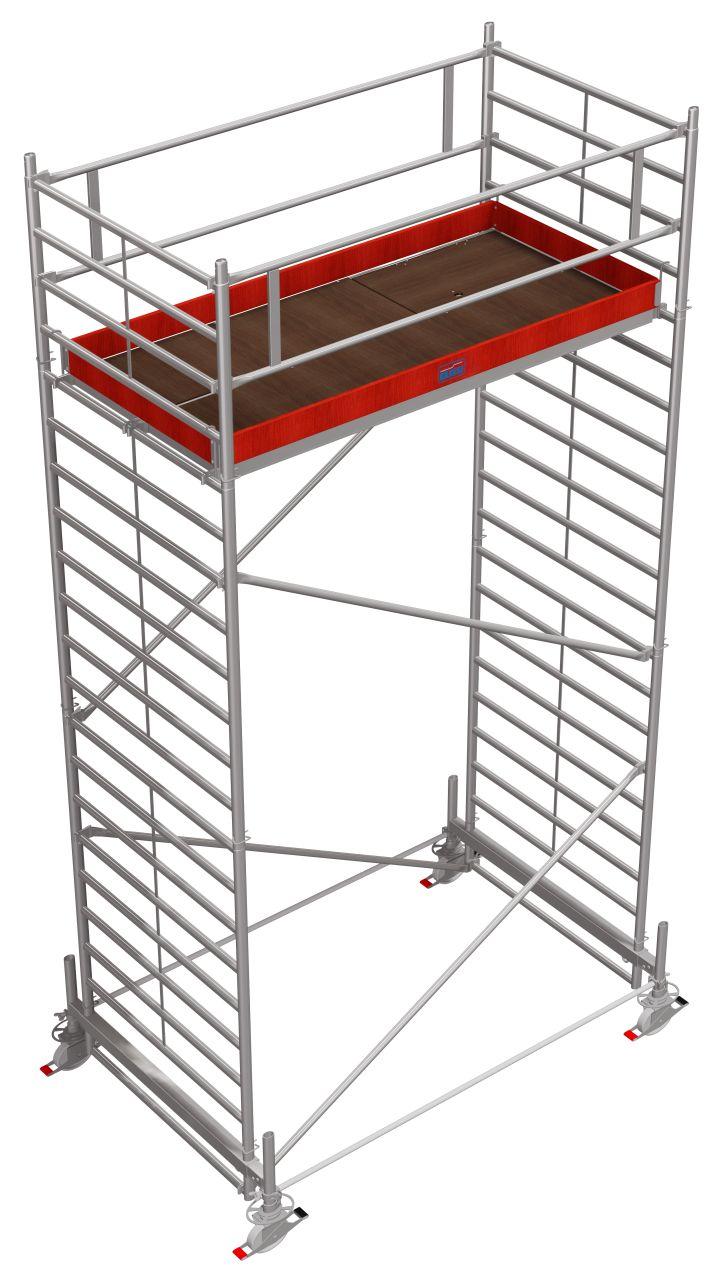 Fahrgerüst Serie 500 Das professionelle Alu-Fahrgerüst mit doppelter Belagbühnenfläche