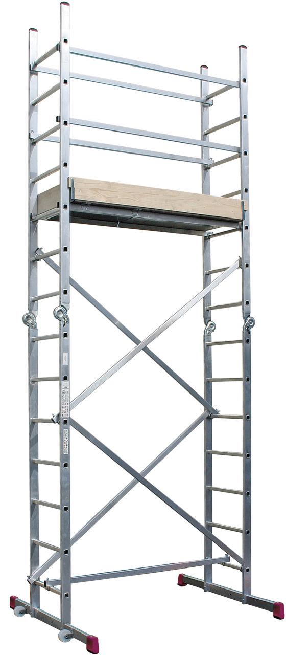 Gelenkgerüst-Vielseitig verwendbares Gerüst-Leitern-System<br>