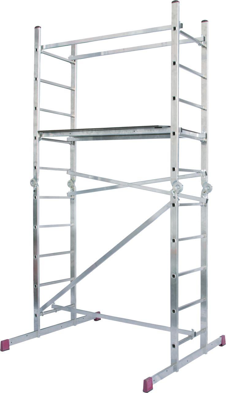 Gelenkgerüst-Vielseitig verwendbares Gerüst-Leitern-System