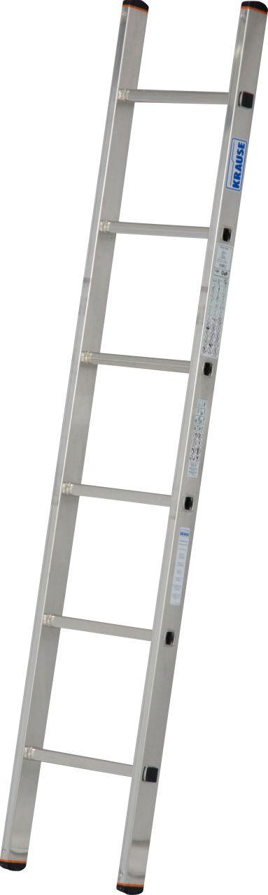 Sprossen-Anlegeleiter Sibilo, einteilig. Die leichte und universell einsetzbare Aluminium-Anlegeleiter für alle Bereiche