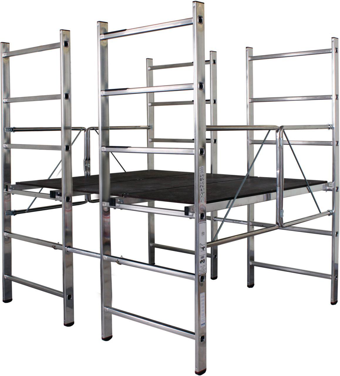 Plattformgerüst-Kompaktes Plattformgerüst mit einer maximalen Arbeitshöhe von ca. 2,80 m