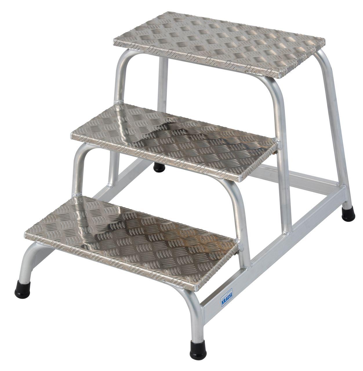 Montagetritt. Der bewährte und leichte Aluminium- Montagetritt für anspruchsvolle industrielle Anwendungen mit rutschhemmenden Stufen