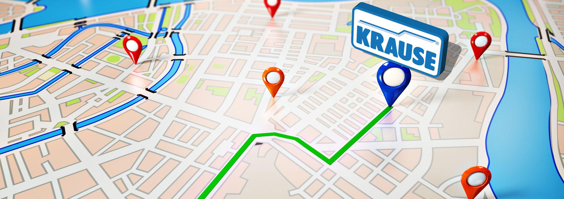 Anfahrtsbeschreibung - Ihr Weg ins KRAUSE-Werk