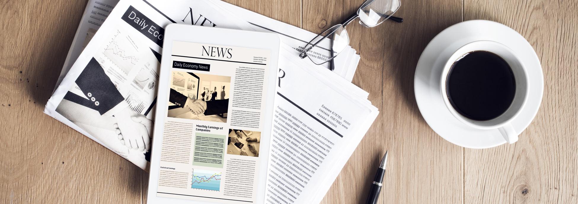 Aktuelle News, Presseveröffentlichungen und Termine