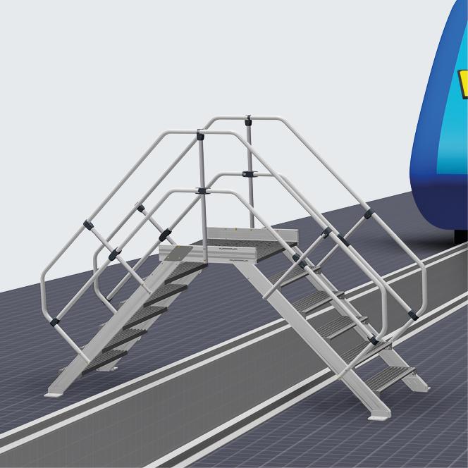 Weitere Ausführungsmöglichkeiten von Gleisübergängen